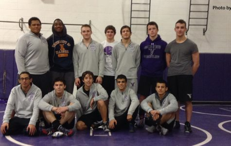 Varsity wrestling stand strong in CSL tournament