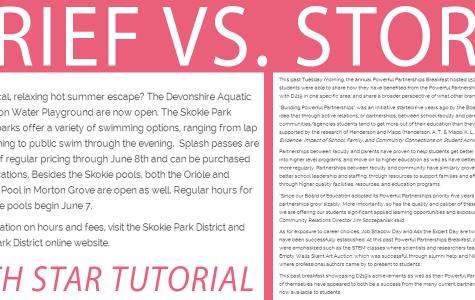 In-depth tutorial: Story vs. brief