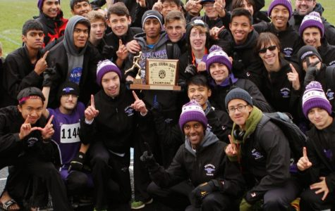 Boys cross country recaptures CSL North title