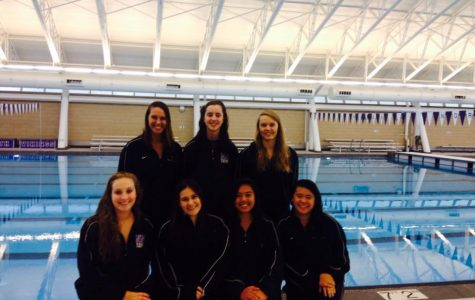 Senior night: Girls swimming and diving team's last stand