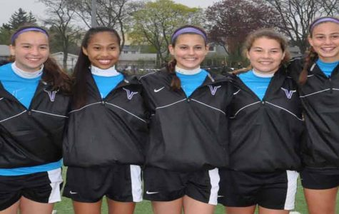 Girls Soccer beats Highland Park on Senior Night