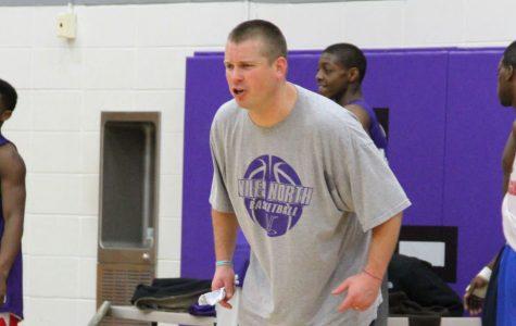 Coach Olson leads boys basketball to success
