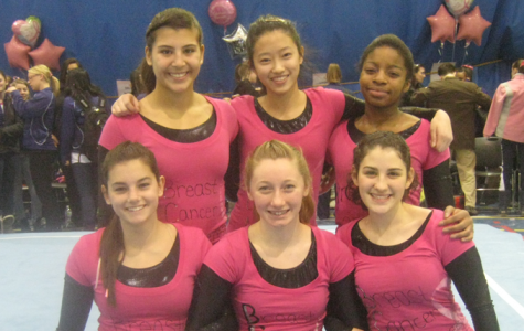 Girls gymnastics works through rebuilding year, finishes fourth at conference