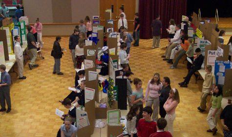 North hosts Illinois Junior Academy of Science regional exposition