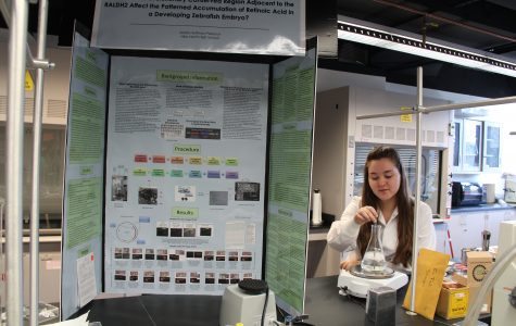 Hoffman-Peterson earns her stripes in local science fair