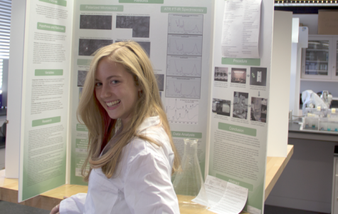 Sproull's research in combatting nuclear waste makes her ISEF qualifier