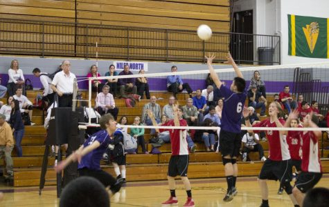 Boys Volleyball powers forward