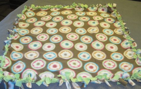 Need a lie-down? How to make a tie blanket