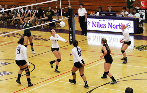 Varsity volleyball team takes off, promising stellar season ahead