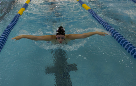 Girls swimming: weary, but not watered down