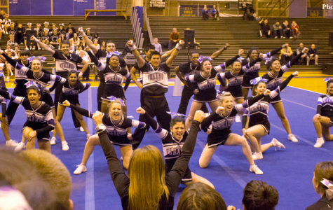 Cheer conference champs: Viking cheerleaders take first