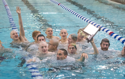 Boys swimming crowned conference champs once again