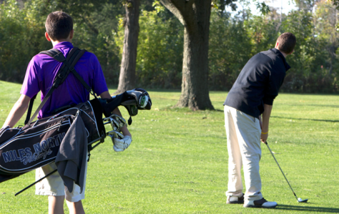 Niles North golf team is up to par