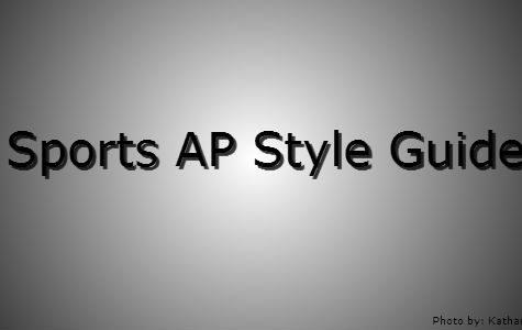Sports AP Style Guide