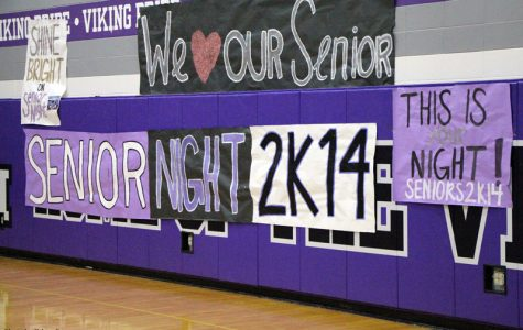 Girls basketball wins big at Senior night