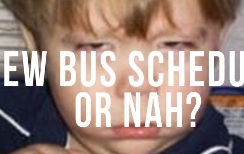 Bus schedules, breakfast, or bust