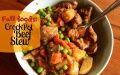 Favorite fall comfort food: Beef stew