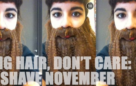 No Shave November: Long hair, don't care