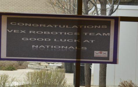 Robotics team heads to nationals