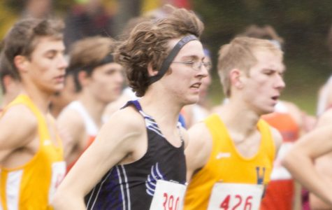 Martin Barr and Conor Perrault sprint to state