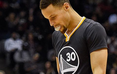 The Golden State Warriors fall down