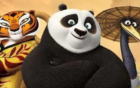Kung Fu Panda kicks back in action