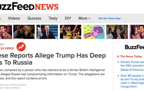 Buzzfeed's journalistic integrity tested with Trump dossier