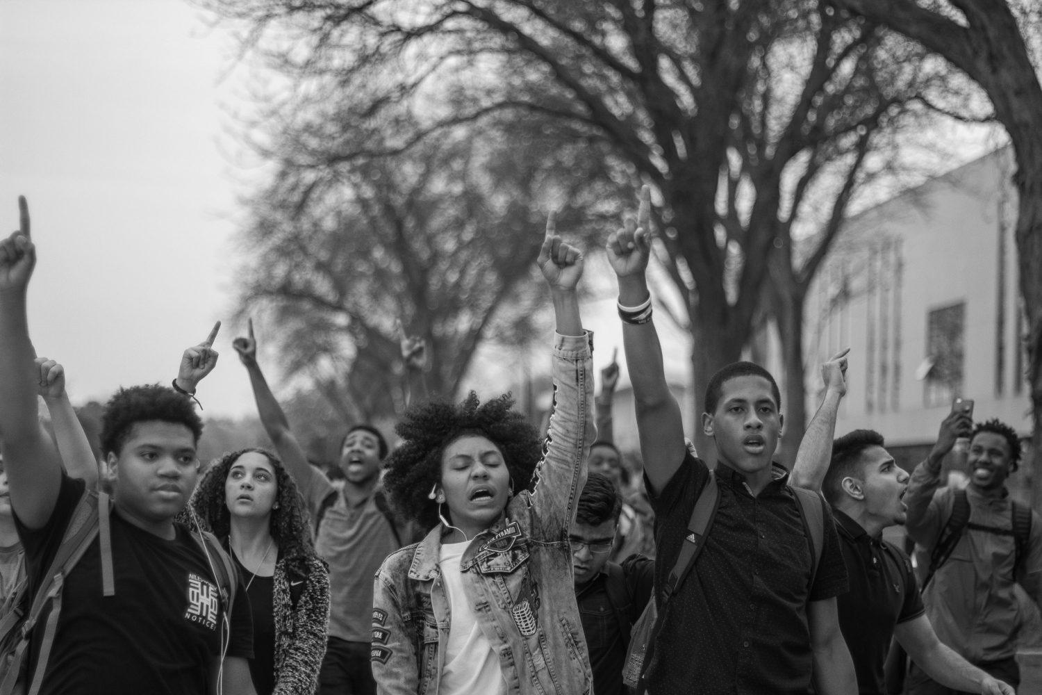 Niles North students stage peaceful walkout in name of equity