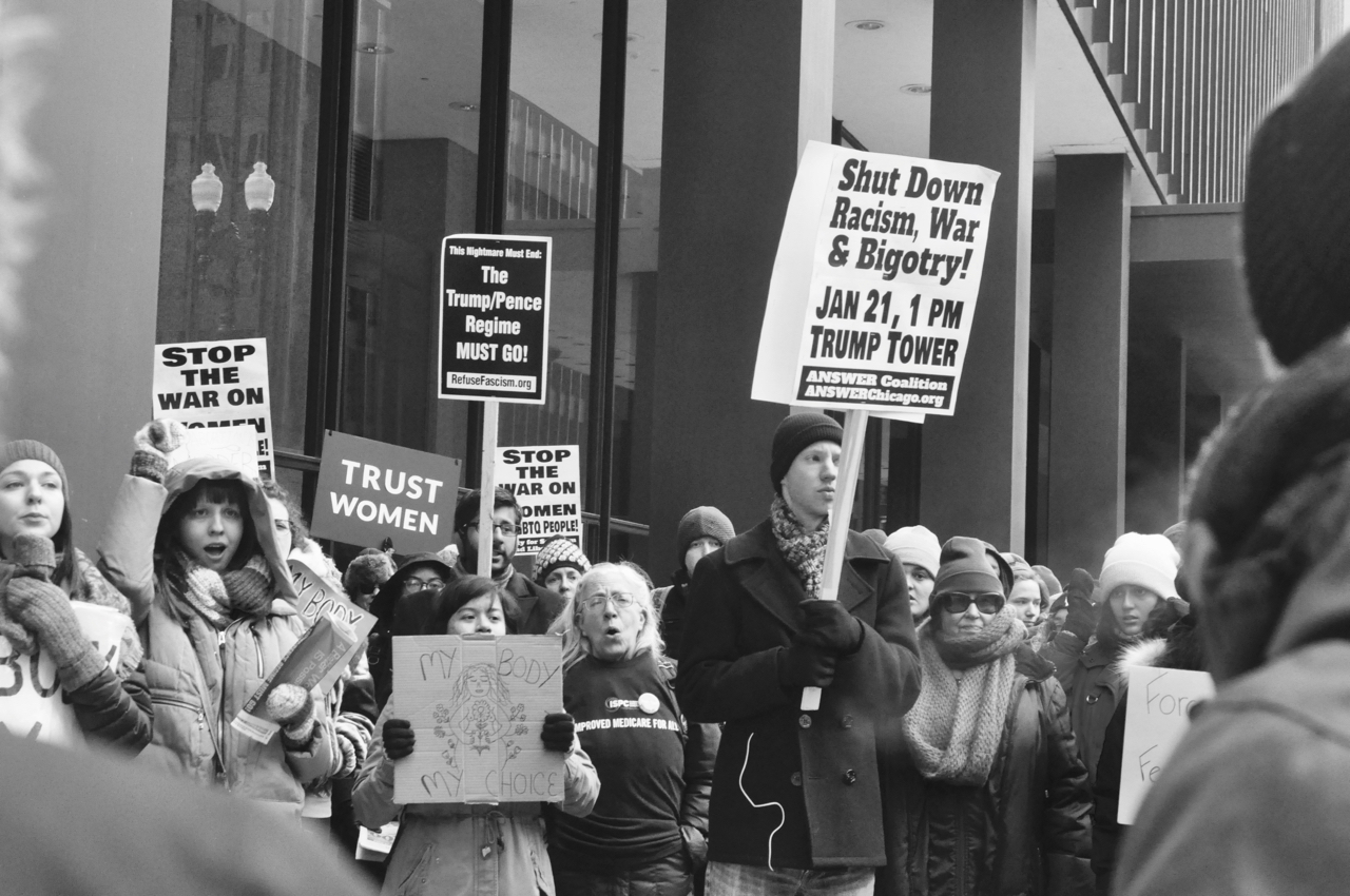 March for Life and counter-protest draws people from all sides downtown this weekend