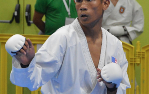 Quiroz wins top 3 at World karate competition