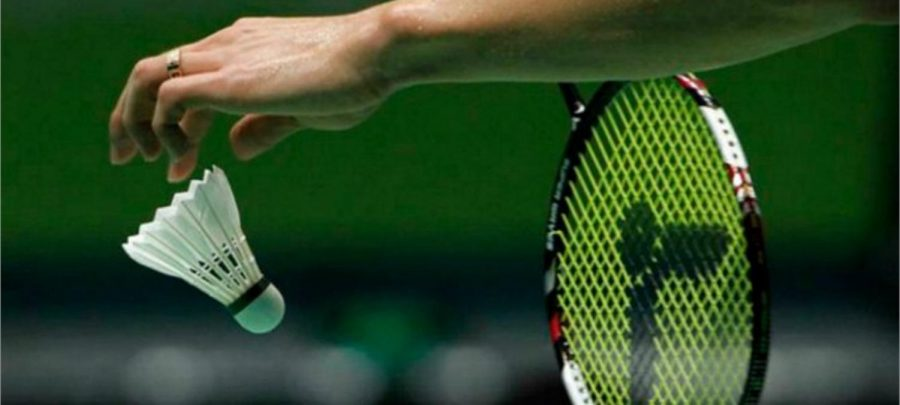 Badminton is a sport played with a racquet and a 'birdie', over a low net.