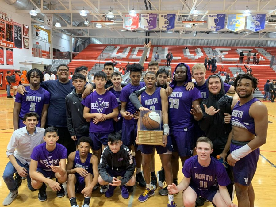 (photo courtesy of Niles North athletics twitter)