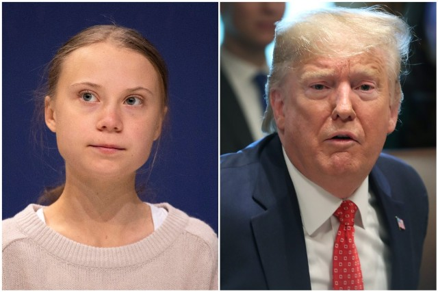 Greta Thunberg is named Time Magazine's 2019 Person of the Year as Trump keeps his comments on Twitter.