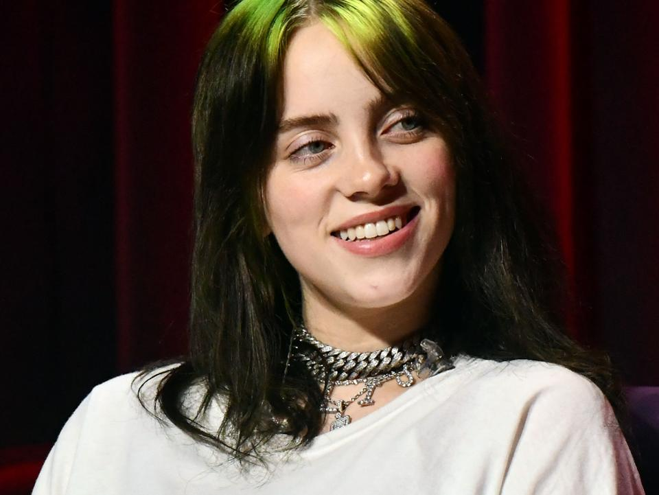 Billie Eilish accepted her Billboard 2019 Woman of the Year honor on Dec. 12.