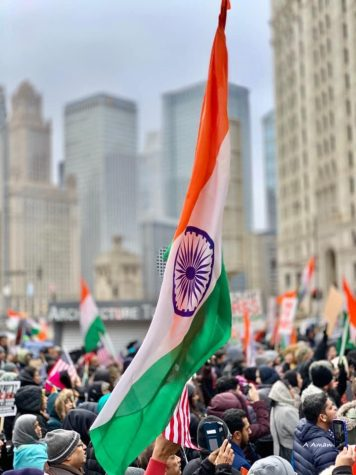 Thousands of Indian-Americans and several other human and civil rights organizations gather in Chicago to engage in a peaceful protest to demand a repeal of the Citizenship Amendment Act.
