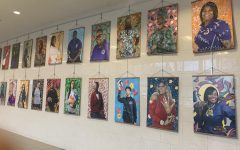 Art classes make portraits for Black History Month