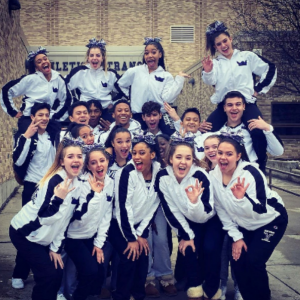 Niles North cheer State send-off this week