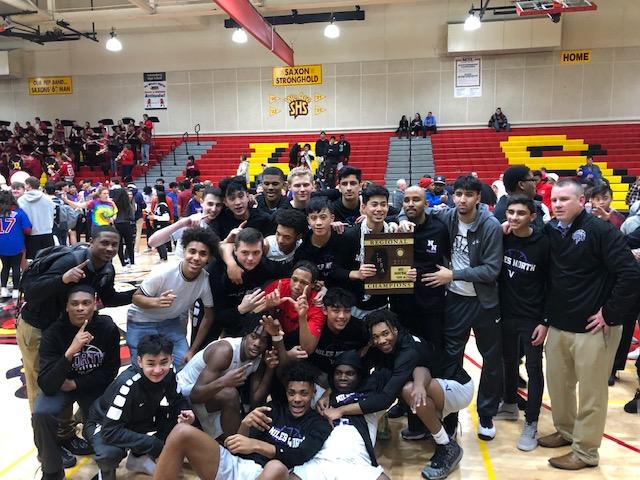 Thank you to the 2019-2020 Varsity Boys Basketball team