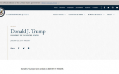 Trump, Pence's pages on State Department site hacked